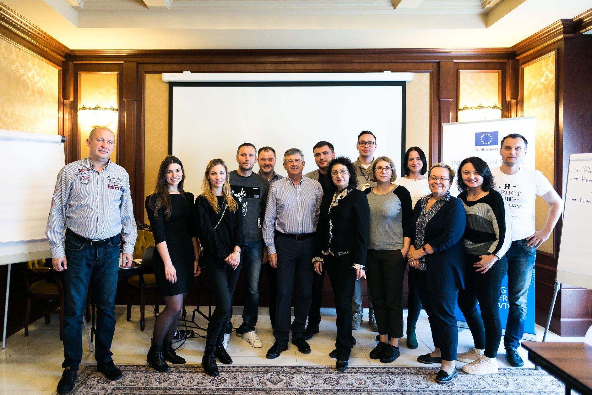 Спеціалісти компанії «SCS» відвідали тренінг з управління проектами за підтримки ЄБРР